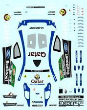 Colorado Decals 1/32 FORD FIESTA RS WRC QATAR STANDARD DECORATION 2013