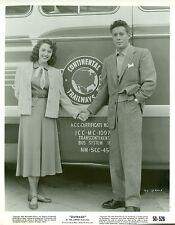 MALA POWERS CONTINENTAL TRAILWAYS BUS OUTRAGE ORIGINAL 1950 RKO MOVIE PHOTO