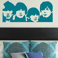 The Beatles Wall Sticker Decal Art Transfer Graphic Stencil Vinyl Decor Big BN50