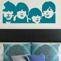 The Beatles Wall Sticker Decal Art Transfer Graphic Stencil Vinyl Decor Big BN50