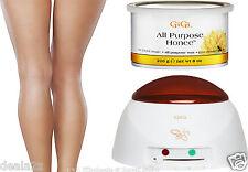 14oz Gigi Wax Warmer + 1 X 0330 All Purpose Honee wax Fast Shipping