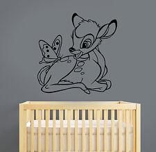 Disney Bambi Wall Decal Vinyl Sticker Cartoon Art Bedroom Nursery Decor bem2