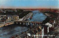 Angers, France Maine Mayenne River Bridge Vintage Postcard B12