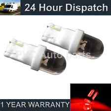 2x W5W T10 501 Xenon ROSSO DOME LED INTERNI CORTESIA LAMPADINE HID il100101