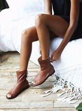 New Free People Ridge Runner Bandal (Boot Sandal) - Tan - Sz. 36 New in Box