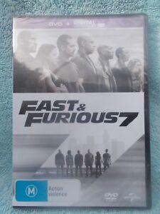 FAST & FURIOUS 7 PAUL WALKER,VIN DIESEL(DVD & DIGITAL UV) M R4 SEALED
