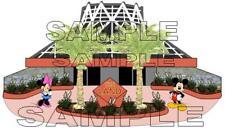 Disney Epcot Future World The Land Scrapbook Paper Die Cut Piece