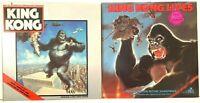 King Kong + Lives Original Motion Picture Soundtrack LP Vinyl Record Album Lot