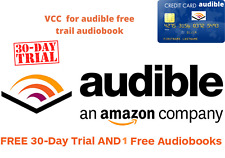 VCC for audible 1 month free trial + 1 free credit | read Description| fast