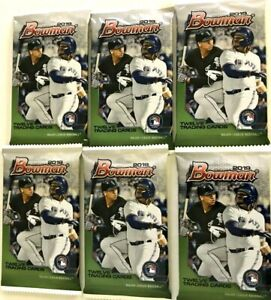 2019 BOWMAN BASEBALL PACKS ( 6 PACK LOT )