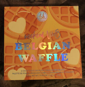 BH Cosmetics Weekend Vibes Belgian Waffle 6 Color Bronzer & Highlighter Palette