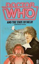 DOCTOR WHO<>THE STATE OF DECAY by TERRANCE DICKS<>TARGET PAPERBACK ~