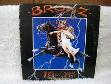 1984 Bronz Taken by Storm Vinyl Album, Bronze/Atco Division of Atlantic Records