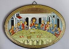 Cuadro de Pared Laminado Madera Hecho a Mano 12 Apóstol Aposteln Última Cena 28