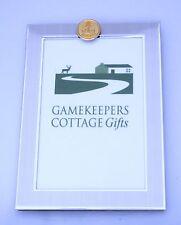 Royal  Navy Gilt Badge Photo Picture Frame 6x4 Landscape/ Portrait BGK49