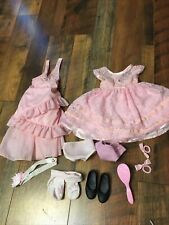carpatina & other dress , accessories doll small lot