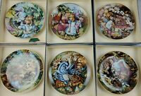Alice in wonderland decorative Collector plates set of 6