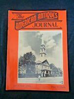 1949 AMERICAN ANTIQUES JOURNAL Schoenhut Dolls Olof Kraus Art Smith Bros Clocks