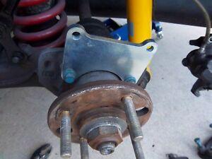 """Merkur XR4Ti 11"""" Rear Disc Brake Kit 280mm For Sierra XR4i Big Brake kit"""