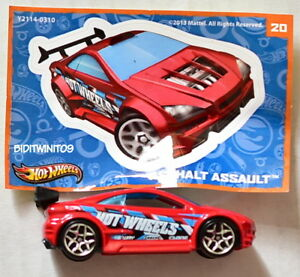 HOT WHEELS 2013 MYSTERY CAR #20 ASPHALT ASSAULT W+
