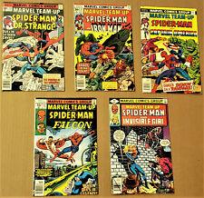 MARVEL TEAM-UP #50-52, 71, 88 (Marvel, 1976-1979) Ave. VF/NM 9.0
