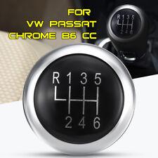 6 Speed Gear Knob Stick Lever Badge Emblem Trim Cap Cover For VW Passat B6 B7 CC