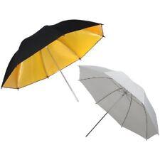 352056 DynaSun Ur02w e Ur02gb Set di 2 ombrelli professionali da Studio 109 cm