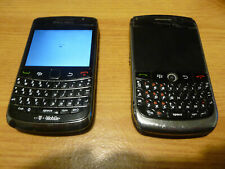 JOB LOT BLACKBERRY MOBILE PHONES USED x2 HANDSETS,  9700, 8900