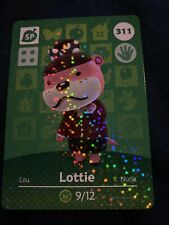 Lottie #311 Animal Crossing Amiibo Card Authentic Never Scanned
