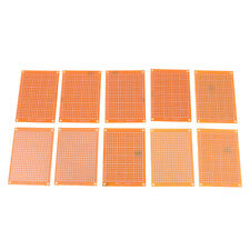 10x 5x7cm PCB Prototype Board Stripboard Veroboard For Arduino AVR PIC DIY