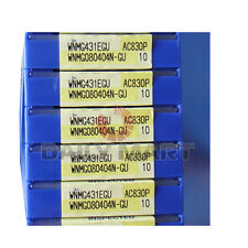 10PCS/Box New Sumitomo WNMG080404N-GU AC820P WNMG431EGU Carbide Inserts Original