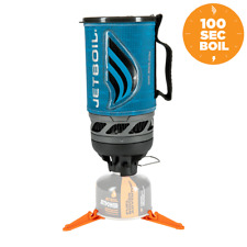Jetboil Flash Personal Cooking System Regulated Camping Stove - Matrix Blue
