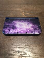 New Nintendo 3DS XL Galaxy Style Purple Handheld Console - Used
