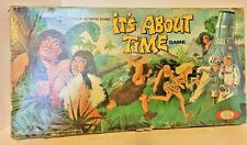 RARE 1966 Ideal It's About Time Vintage Board Game  CBS TV SERIES *REDUCED*