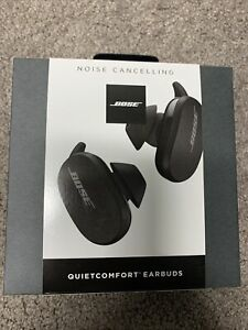 Bose QuietComfort QC True Wireless Earbuds - Black Noise Cancelling - BRAND NEW!