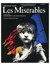 Learn to Play Selections From Les Miserables For Clarinet On My Own MUSIC BOOK