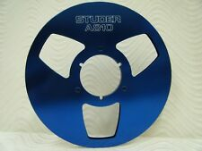 """Studer A810 NAB 10.5"""" Anodized Aluminum take up Reel for 1/4"""" tape USA Made"""