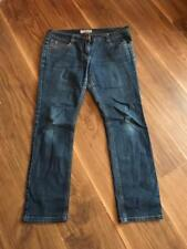 DOROTHY PERKINS STRAIGHT LEG  JEANS STONWASHED BLUE  SIZE 12 W32 L28