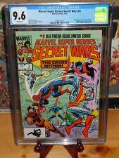 💎 Marvel Super Heroes Secret Wars #3 Graded CGC 9.6 Graded Marvel Comics 1984🔑