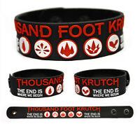Thousand Foot Krutch wristband rubber bracelet