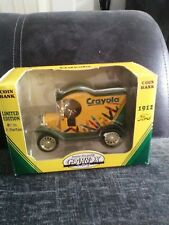 gearbox toys coin-money box crayola 1912 ford van