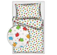 100% Baumwolle Kinder-Bettwäschegarnituren für Jungen & Mädchen und Tiere