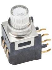 4 x PTCT-07-A PCB Mount LED illuminated Right Angle Tactile Switch, PIC Arduino