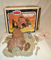 Star Wars Empire Strikes Back Dagobah Playset With Crates Kenner 1981 Vintage !!