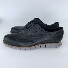 Cole Haan Zerogrand Wing Black Oxford Navy/Ironstone Mens Size 7.5 US