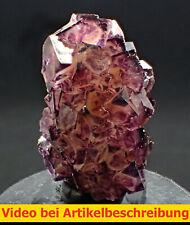 7741 Fluorit fluorite Phantome  ca 3*4,5*4 cm Okorusu Namibia  MOVIE