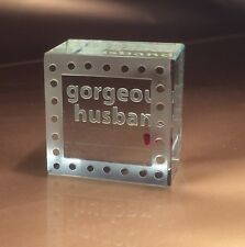 Spaceform Gorgeous Husband Token Romantic Love Gift Ideas for Him Men 1356