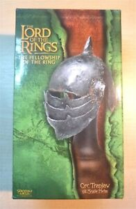 Lord of the Rings - ORC TRAPJAW HELM - Sideshow Weta 1/4 Scale (Metal) - NEW!!!