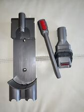 Dyson Vacuum Attachments: docking station/mount, crevice tool, combination tool