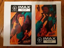 Exclusive Regal Imax Solo Week 1&2 Collectible Movie Tickets Set (For x 2 sets!)